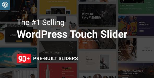 Master Slider v3.2.11 - WordPress Responsive Touch Slider