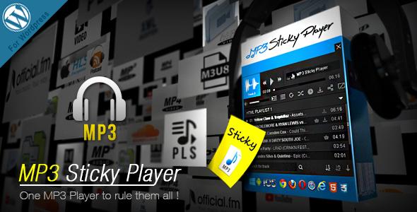 MP3 Sticky Player v5.5 – WordPress Plugin