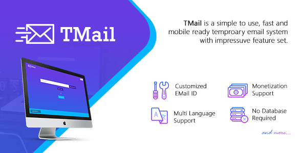TMail v4.2 – Multi Domain Temporary Email System