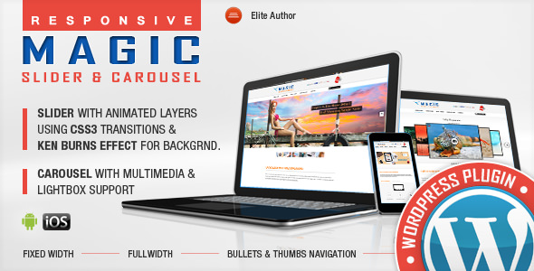 Magic Responsive Slider and Carousel v1.2.3