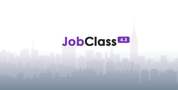 JobClass v4.3 – Geo Job Board Script – nulled