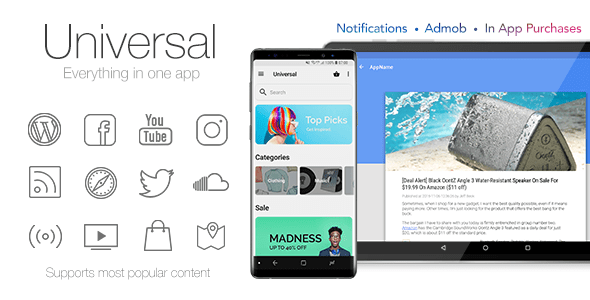 Universal v4.3 – Full Multi-Purpose Android App