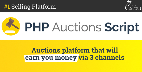 PHP Auctions Script v1.1.1 – nulled