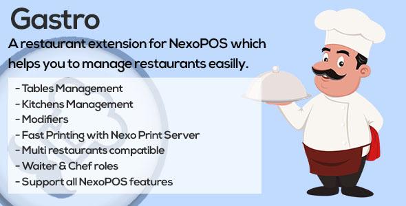 Gastro v2.3.21 - Restaurant Extension for NexoPOS