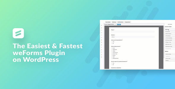 weForms v1.3.0 - Fastest Contact Form Plugin
