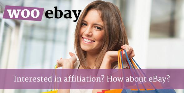 WooCommerce eBay Affiliates v1.1 – WordPress Plugin