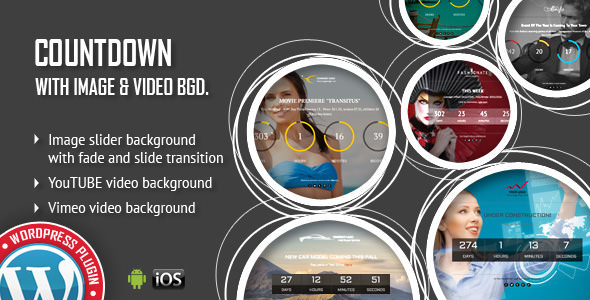 CountDown With Image or Video Background v1.3.4