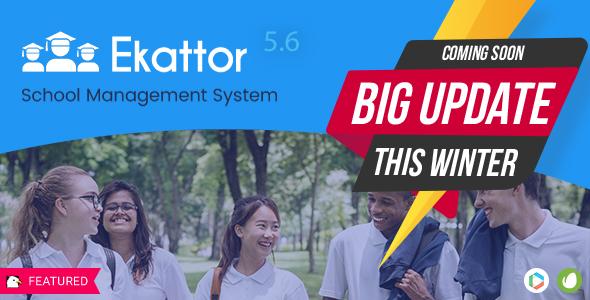 Ekattor School Management System Pro v5.6 - nulled