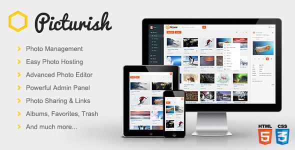 Picturish v1.4.1 - Image hosting, editing and sharing