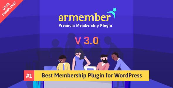 ARMember v3.0 - WordPress Membership Plugin