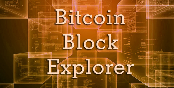 Bitcoin Block Explorer v1.1.0