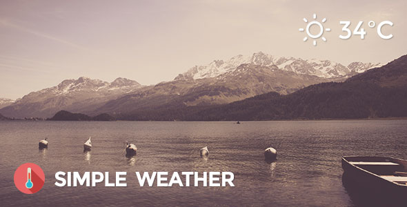 Weather v4.3.2 – Simple WordPress Shortcode & Widget