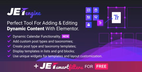 JetEngine v1.2.2 – Adding & Editing Dynamic Content