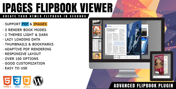 iPages Flipbook For WordPress v1.1.4