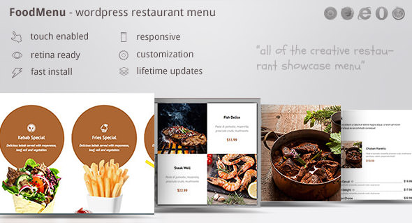 FoodMenu v1.16 - WP Creative Restaurant Menu