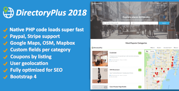 DirectoryPlus v1.08 - Business Directory Script