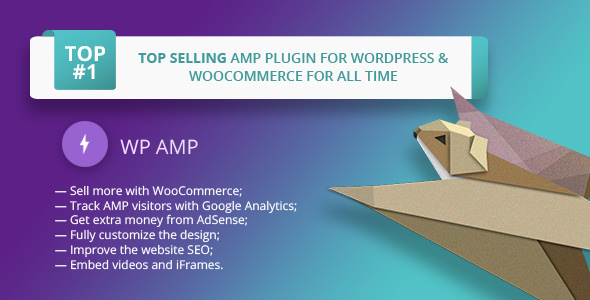 WP AMP v9.2.3 – Accelerated Mobile Pages for WP and WooCommerce