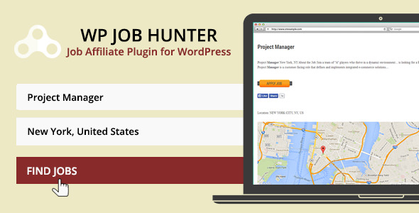 WP Job Hunter v1.9.2 – WordPress Job Board Plugin