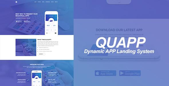 QUAPP – Dynamic App Landing Page Management System