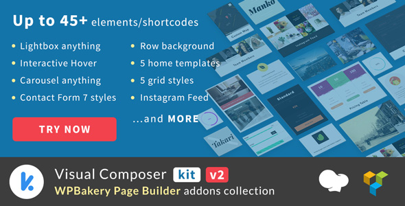 VCKit v2.0.5 – WPBakery Page Builder addons collection