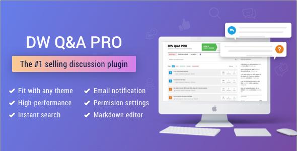 DW Question & Answer Pro v1.2.0 – WordPress Plugin