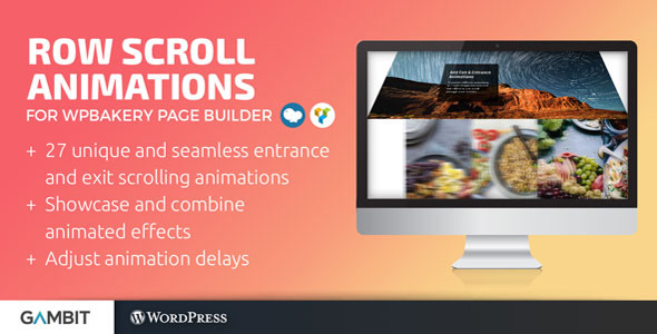 Row Scroll Animations for WPBakery Page Builder v1.3