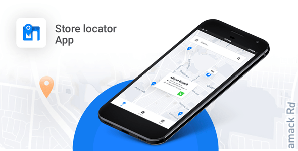 Store Locator Android App – Locate Store, Branches, ATM, Showrooms and many more