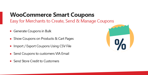 WooCommerce Smart Coupons Plugin v1.0.4