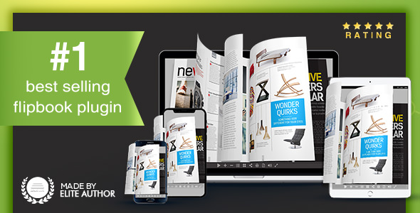 Real3D FlipBook v3.7.10 - WordPress Plugin