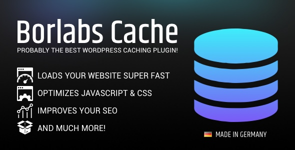 Borlabs Cache v1.4 – WordPress Caching Plugin