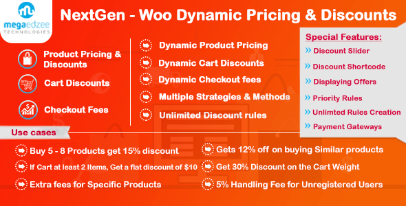 NextGen v4.0 – WooCommerce Dynamic Pricing and Discounts