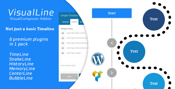 Visual Line v2.0.1 – WordPress Timeline Plugin