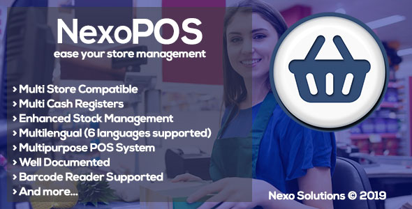 NexoPOS v3.14.14 - Extendable PHP Point of Sale
