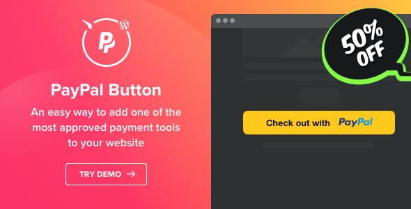 PayPal Button v1.2.0 - WordPress PayPal plugin