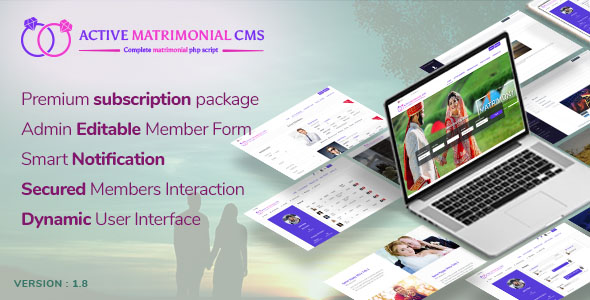 Active Matrimonial CMS v1.8 – nulled