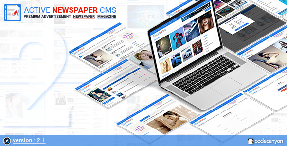 Active Newspaper CMS v2.1 – nulled
