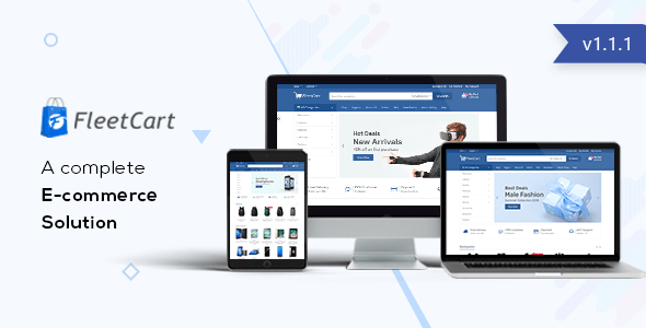 FleetCart v1.1 - Laravel Ecommerce System