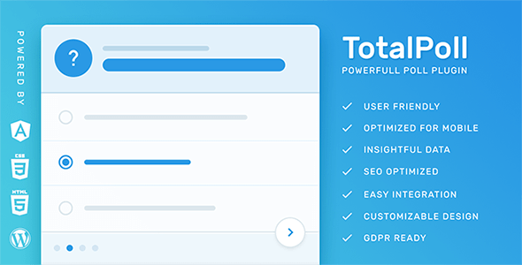 TotalPoll Pro v4.0.7 - WordPress Poll Plugin