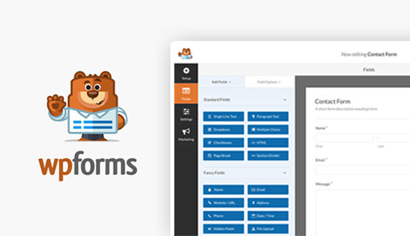 WPForms Pro v1.5.1.3 + Add-Ons Pack