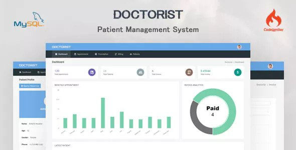 Doctorist v1.0 - Patient Management System