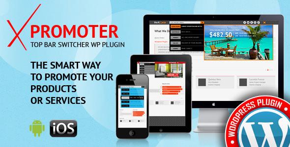 xPromoter v1.2.1.0 – Top Bar Switcher Responsive Plugin