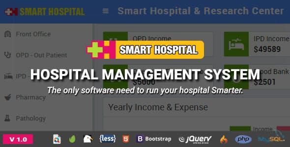 Smart Hospital v1.0 – Hospital Management System – nulled