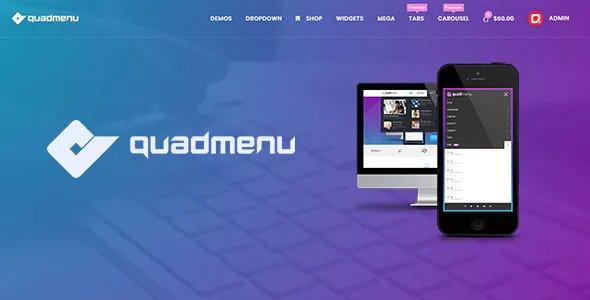 QuadMenu v1.7.3 - Themes Developer Mega Menu