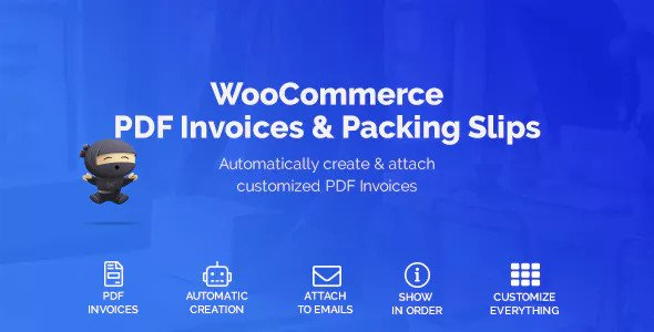 WooCommerce PDF Invoices & Packing Slips v1.1.0