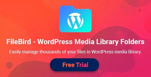 FileBird v4.0.7 - WordPress Media Library Folders
