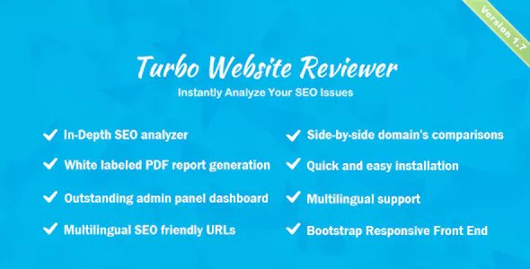 Turbo Website Reviewer v1.7 - In-depth SEO Analysis Tool