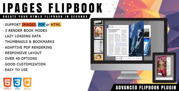 iPages Flipbook v1.3.4 – jQuery Plugin
