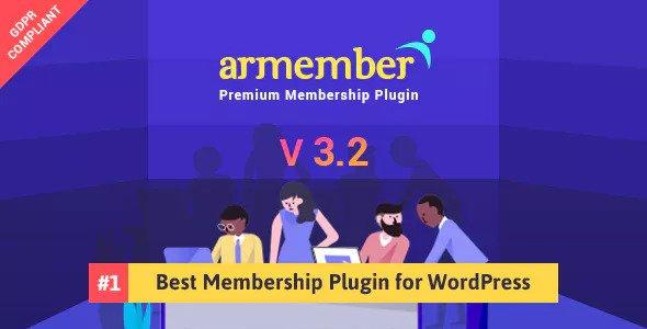 ARMember v3.2 - WordPress Membership Plugin