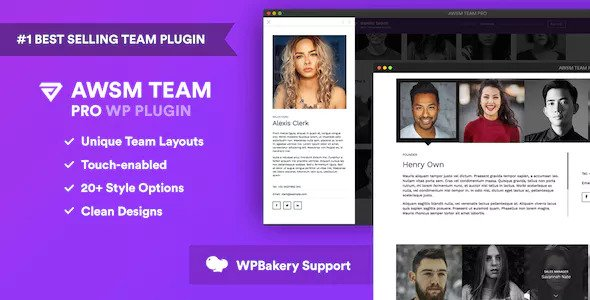 The Team Pro v1.3.0 – Team Showcase WordPress Plugin