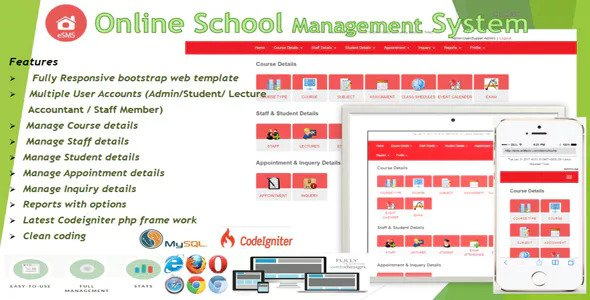 eSMS - Online School Management System